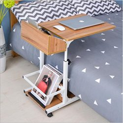 Overbed Table Adjustable C Table Portable Computer Laptop Stand Desk – Modern Sofa table W ...