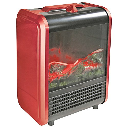 COMFORT ZONE CZFP1 Mini Electric Fireplace Home, garden & living