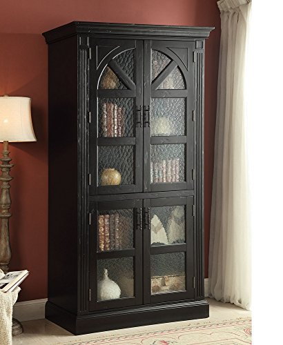 shadow black metal doors zin box industrial with cabinet home curio