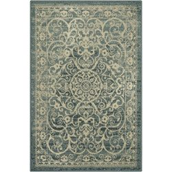 Maples Rugs Area Rugs, [Made in USA][Pelham] 7′ x 10′ Non Slip Padded Large Rug for  ...