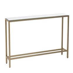 Furniture HotSpot – Metal Skinny Console Table (36×29.5)