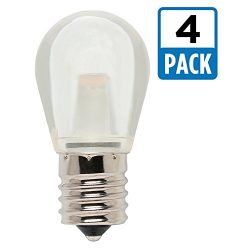 Westinghouse 4511420 10W Equivalent S11 LED Light Bulb with Intermediate Base (4 Pack), Clear