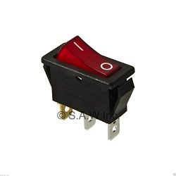 New Rocker Switch Lighted On Off for Electric Fireplaces FMI Desa 120927-24 120 volt