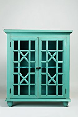 Jofran: 1530-31, Brighton Park, Accent Chest, 31″W X 15″D X 35″H, Turquoise Fi ...