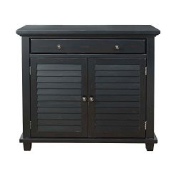 Picket House Furnishings Marshall Accent Chest Rustic/Antique Black/36/62