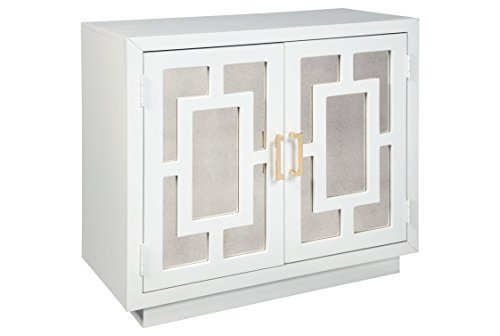 Ashley Furniture Signature Design – Walentin 2-Door Accent Cabinet – Contemporary &# ...