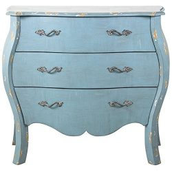 Pulaski DS-D018008 French Bombay Accent Drawer Chest, 38.0″ x 16.0″ x 33.0″, D ...