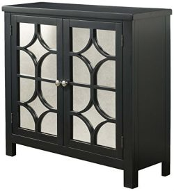 Abbey Avenue A-CAM-800ACH Camryn Accent Chest, Antique Black