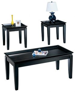 Ashley Furniture Signature Design – Delormy Occasional Table Set – Contemporary Tray ...