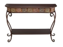 Deco 79 74362 Metal Wood Console Table, 32″ x 43″