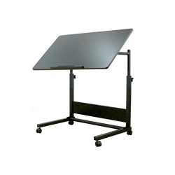 UNICOO-Height Adjustable Laptop Cart, Computer Desk, Sofa Side Table, Couch Table, Bedside Table ...