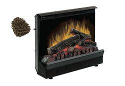 Dimplex DFI2309 Fireplace Insert, Electric (Complete Set) w/ Bonus: Premium Microfiber Cleaner B ...