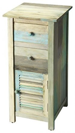 Butler Fiona Painted Rustic Accent Chest, 15-1/2″ x 19-1/2″ x 35-1/2″, Artifac ...