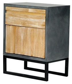 Heather Ann Creations The Nova Collection Modern Style Wooden Entry Way 1 Drawer 1 Door Living R ...