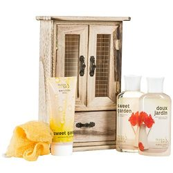 Bath and Body Set Floral Spring Spa Gerber Daisy Flower Sweet Garden – Spa Set – Dis ...
