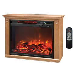 Smart for Life Lifesmart 3 Element Quartz Infrared Electric Portable Fireplace Space Heater