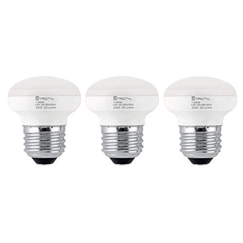 Elegant Lighting 40w Equivalent Soft White E26 Dimmable: R14 LED Light Bulb, 4.5w (40w Equivalent), Dimmable, 300