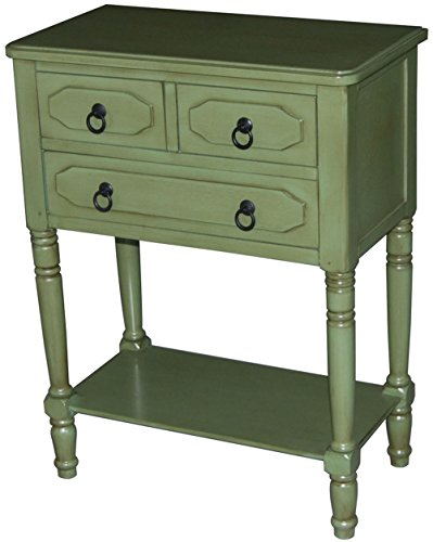 4D Concepts 550397 Simplicity 3 Drawer Chest in Green