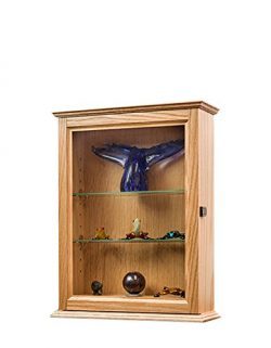 Decorative Hardwood Wall Cabinet-*Made in the USA*