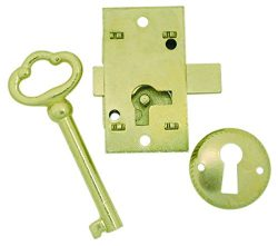 Ultra Hardware 44819 Surface Mounted Cupboard Lock, 2 x 2 x 2 inches