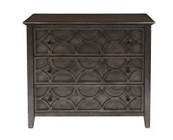 New Classic Lucia Antique Brown 3 Drawer Chest