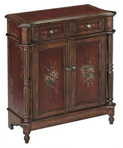 Stein World Furniture Chamberlin Petite Chest, Burgundy, Walnut