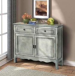 FLIEKS Harper&Bright Designs Wood Accent Cabinet with Drawers and Doors Vintage Accent Stora ...