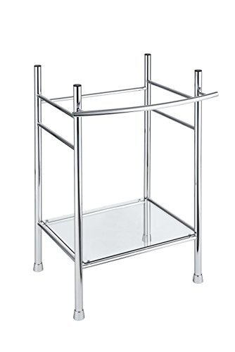 American Standard 8719000.002 Edgemere Console Table Legs, Chrome