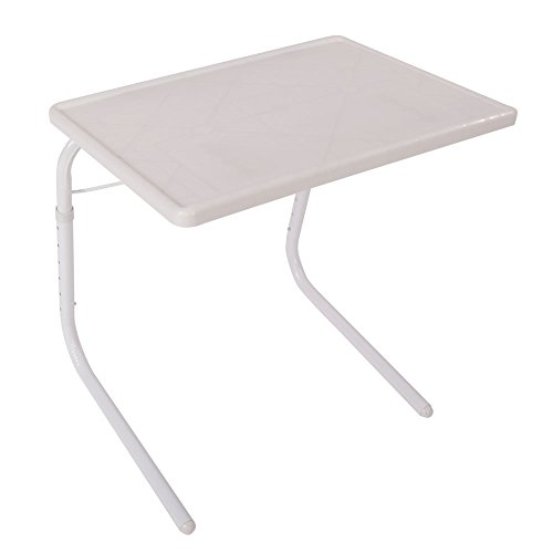 SAILSWORD Medical Adjustable Overbed Table Bedside Portable Notebook Desk Sofa Side Table Hospit ...