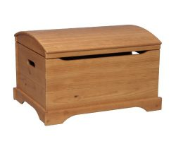 Little Colorado Personalized Captain's Chest- Honey Oak