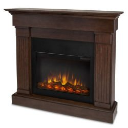 Real Flame 8020E-CO Crawford Electric Fireplace, Chestnut Oak