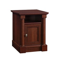 Sauder 420519 Palladia Side Table, L: 19.92″ x W: 23.03″ x H: 25.43″, Select C ...