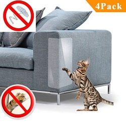 PetIsay Furniture Protector for Cat Scratching Protection Clawing Repellent Couch Guard for Sofa ...