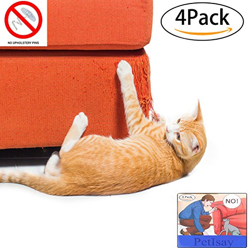 Petisay Plastic Cat Scratching Furniture Protector Clawing