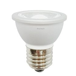 1-LED HR16 120V E27 MR-16 JDR C Light Bulb HR-16 Hood Lamp Short Neck E26 (Warm White)