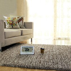 CBOKE Deluxe Indoor Modern Faux Sheepskin Shaggy Rugs Anti-Skid Shag Rug Dining Room Home Bedroo ...