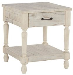 Ashley Furniture Signature Design – Shawnalore Casual Rectangular End Table with Storage & ...