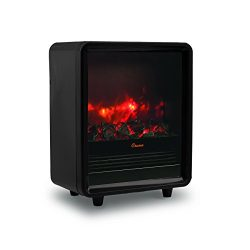 Crane Fireplace Heater – Black