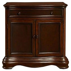 Pulaski DS-P017033 Two Door Framed Accent Chest Rich Brown