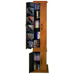 Venture Horizon Media Storage Tower- Cherry