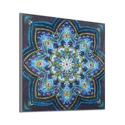 Sinma 5D DIY Diamond Painting Set Decorating Cabinet Table Stickers Crystal Rhinestone Diamond E ...
