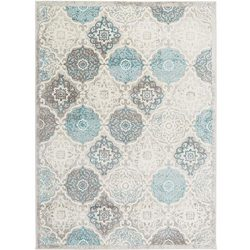 Home Dynamix Boho Andorra Area Rug |Modern Style with All-Over Print | Soft Distressted Texture  ...