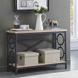 O&K Furniture Hall Console Table for Entryway and Living Room, Behind The Sofa Table with St ...
