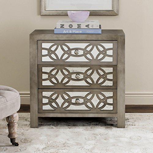 Safavieh American Homes Collection Tasha Grey 3 Drawer Chest Standard