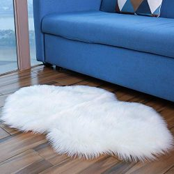 Cloud Bedroom Rugs, Premium Soft Luxury Fluffy Faux Fur Area Rug for Floor Living Room Bedroom R ...