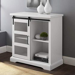 WE Furniture AZF32ALGDSW Buffet 32″ Solid White