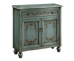 Treasure Trove Accents Accent Chest, Dearington Teal Finish