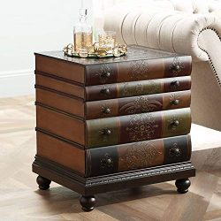 Crestview Collection Library 3-Drawer Chest