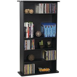 Atlantic Drawbridge Media Storage Cabinet – Store & Organize A Mix of Media 240Cds, 10 ...