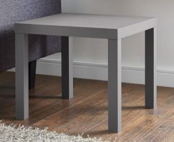 DHP 2095157 Parsons Modern End Table Grey